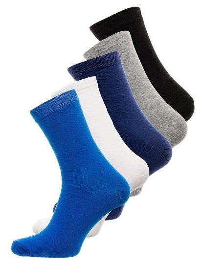 Farebné pánske ponožky BOLF X10003-5P 5 KS