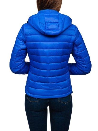 Modrá dámska prechodná bunda BOLF AB054