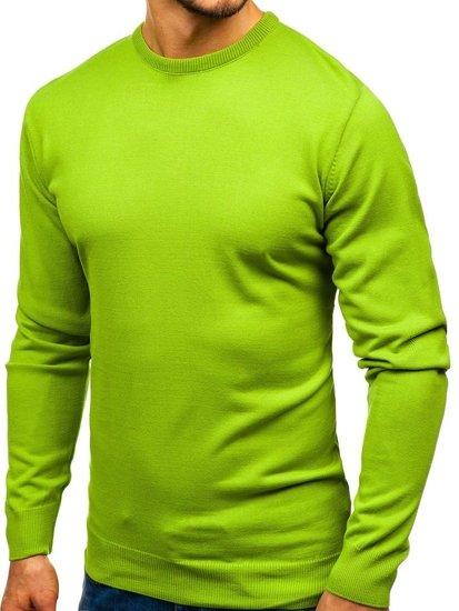 Svetlozelený pánsky sveter BOLF 201
