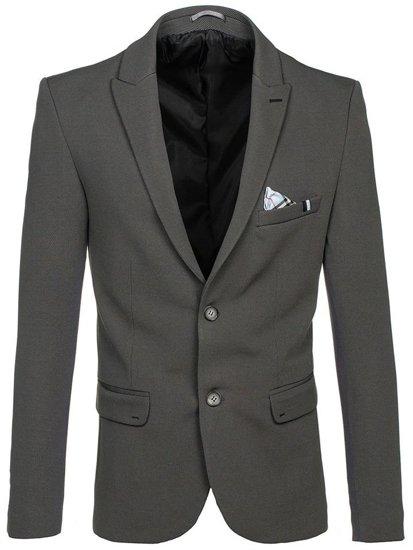 Zelené pánske elegantné sako BOLF 192