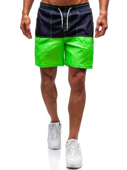 Zelené pánske kúpacie šortky BOLF 310