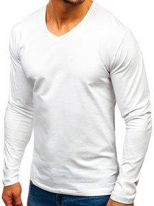 Biely pánsky nátelník bez potlače BOLF 172008