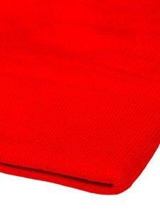 Červená pánska zimná čiapka Bolf YW09004M