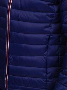 Tmavomodrá pánska športová prechodná bunda Bolf LY1017